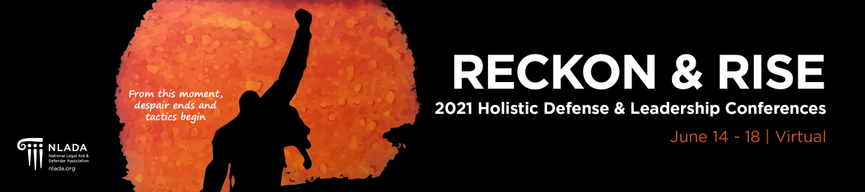 2021 Holistic Defense & Leadership Conference Banner