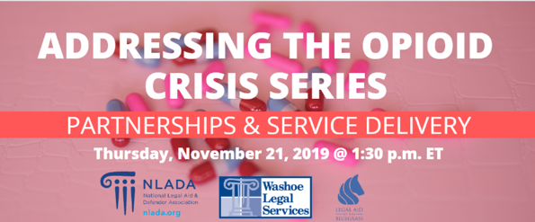 Webinar banner: Partnerships and service delivery