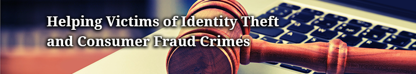 Helping Victims of Identity Theft banner