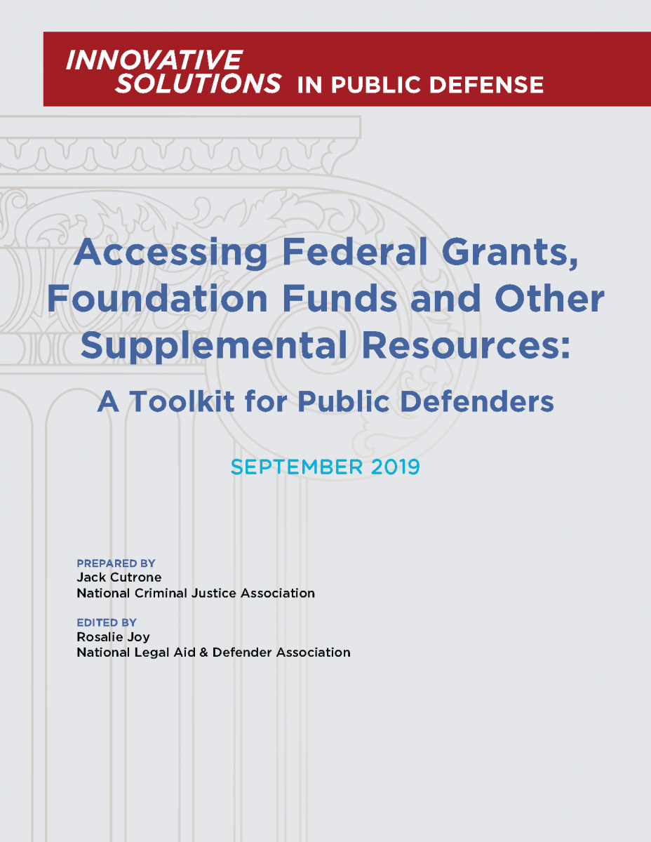 Accessing Federal Grants, Foundation Funds and Other Supplemental Resources