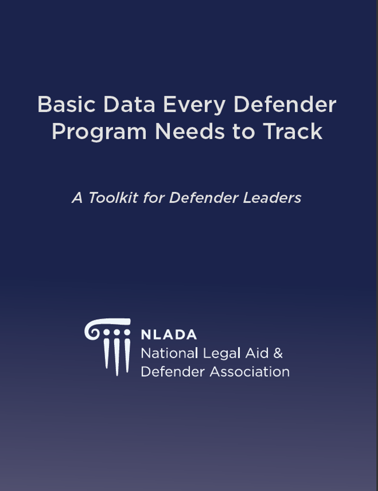Basic Data Every Defender Program Needs to Track - A Toolkit for Defender Leaders