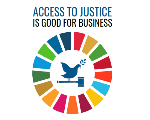 Access to Justice is Good for Business logo